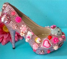 Decoden kawaii harajuku style heels
