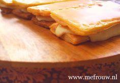 Kids kitchen with love: oranje tompouce – mefrouw Camembert Cheese, Dairy, Food, Essen, Meals, Yemek, Eten