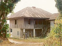 Mary Slessor's House in Calabar Nigeria....this was built circa 1880. A great Aberdonian (Scottish) missionary she was