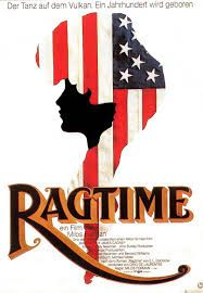 Ragtime is a 1981 American drama film, directed by Miloš Forman, based on 1975 historical novel Ragtime by E. 80s Movie Posters, Original Movie Posters, James Cagney, Film Base, Best Ads, Chef D Oeuvre, Drama Film, First World, Les Oeuvres