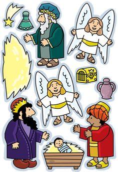 Flanelplaten kerst 9