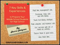 7 skills to prepare middle school age for high school homeschooling