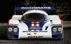 Porsche 956-001 Works - part of the Historic Porsche Collection