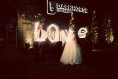 Anthony Brittany, Dark Horse Distillery, Lenexa KS, Wedding Photography | The Mullikin Studio Sparklers