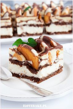 Cake iceberg - I Love Bake Polish Recipes, Cake Cookies, Baked Goods, Food And Drink, Cooking Recipes, Snacks, Eat, Foodies, Recipes