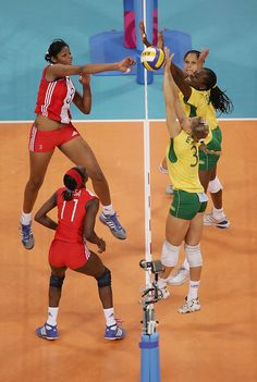 Fierce Volleyball Shots