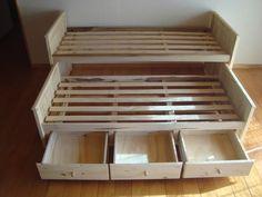 cama nido pino superpuesta con cajones o carro cama fabrica 2900p