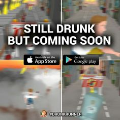 Some EXCLUSIVE screenshots from the mobile game DRUNK RUNNER ;)   #Exclusive #Screenshots #MobileGame #iOS #Android #ComingSoon #DrunkRunner  www.drunk-runner.com