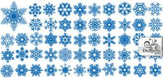 snowflake clip art | Stylized Snowflake Clip Art Vector Free For
