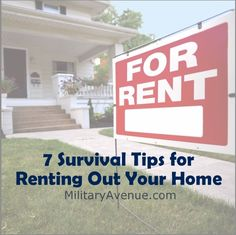 7 Survival Tips for Renting Out Your Home
