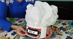 Check out our how-to video for this simple DIY chef hat you can make for your child's Chef-themed birthday party!