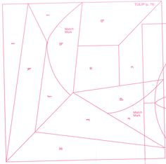 Pintangle.com Crazy quilt block 71 free pattern 01 of 03 …   Pinteres… : free crazy quilt templates - Adamdwight.com