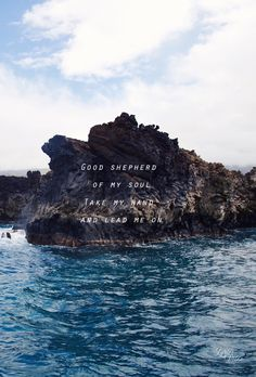 """Good shepherd of my soul take my hand and lead me on // Shepherd"""" by Amanda Cook // Phone screen wallpaper format // Good Quotes, Adonai Elohim, Worship Wallpaper, Bethel Music, Phone Screen Wallpaper, Phone Wallpapers, In Christ Alone, Bible Verses Quotes, Scriptures"""