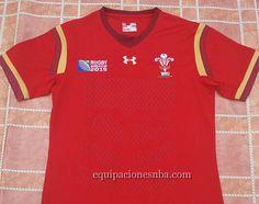 Réplica de Ventas camiseta nba baratas online €19.99  Hombre camisetas de  rugby galés 2015 RWC eeff07cea96