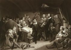 Stephen Hopkins_signing-mayflower-compact