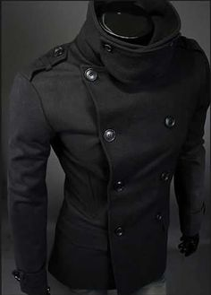 Double Breasted Formal Zip Neck Jacket JK14