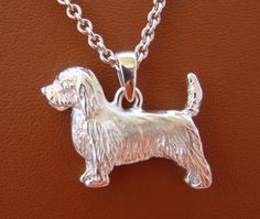 Large Sterling Silver Petit Basset Griffon Vendeen by Petit Basset Griffon Vendeen, Dog Jewelry, What Is It Called, Gift List, I Love Dogs, Pet Dogs, Dog Breeds, Dog Lovers, Pendants