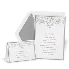 Silver Elegance Wedding Invitation from Michael's