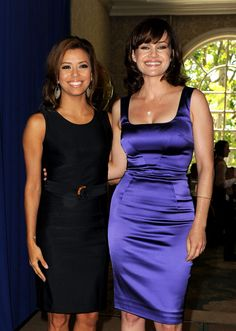 Eva Longoria Photos: Hollywood Foreign Press Association's Installation Luncheon - Inside