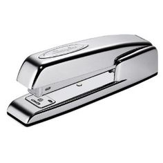 More stainless steel office supply - Collectors Edition Swingline 747 Polished Chrome Classic Desk Stapler $20.05 http://www.amazon.com/gp/product/B00016UVKW/ref=as_li_ss_tl?ie=UTF8=1789=390957=B00016UVKW=as2=pinterestpins-20