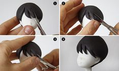 Polymer Clay Doll Hair tutorial - Art Dolls Today