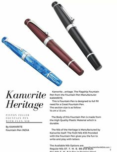 Kanwrite Heritage.  Know more at: www.fountainpenindia.com/kanwrite-buy #Kanwrite #fountainpenindia #fountainpengeeks #fpgeek #fountainpen #fountainpens #fountainpeninks #fountainpenink #penaddict #fpfriends #fpnerds #fpfanatic #fpobssesion #instafountainpen #fountainpen #fpi #fountainpennetwork #fountainpenaddict #fountainpeninks #fountainpenlove #fountainpenph #fountainpenporn