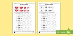 * NEW * Descompunere complexă Fișă de lucru Math Games, Maths, Math Numbers, Words, Horse