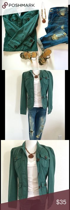 Army Green GAP Jacket Adorable fully lined jacket. GAP Jackets & Coats