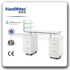 Source glass table nail salon furniture manicure table on m.alibaba.com