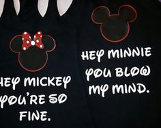 team minnie black tank tops | Free Shipping for US Mickey and Min nie Couples Tank Tops ...