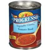 Progresso Tomato Basil - best canned soup .. low cal & so yummy!