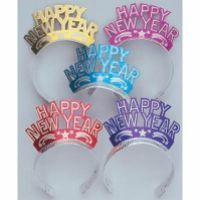Happy New Years Party Glitter Tiaras!! Who doesn't love a tiara :)