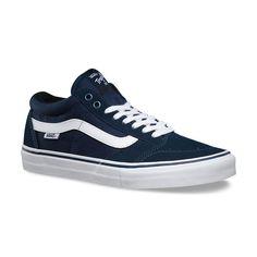 Perfect Vans Navy/White TNT SG, sofft shoes, outlet online shop