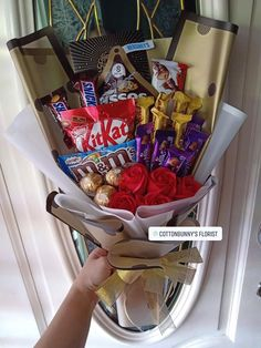 Order or enquiry's please Whatsapp us No : We provide delivery for Penang Kedah Kl Selangor (Selected Area) Diy Birthday Box, Birthday Gift Baskets, Birthday Candy, Food Bouquet, Gift Bouquet, Candy Bouquet, Birthday Gifts For Bestfriends, Chocolate Flowers Bouquet, Wedding Cake Alternatives