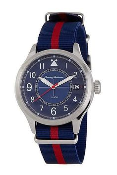 bb1cd1256ba9 Island Scout Canvas Strap Watch Omega Watch