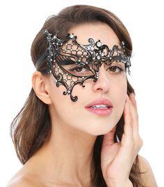 Halloween cast mask.Unisex Phantom//Half face Mask.Masquerade //Ball //Prom.UK