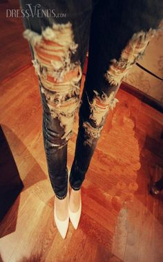 Jeans, Pants , $20.99, New Elegant Perfect Style Jeans With Holes