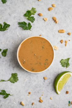 Learn how to make the perfect peanut sauce with just 8 simple ingredients and less than 10 minutes of your time! This is one of our go-to recipes in our house when we are in need of a good dip or dressing, and it hits the spot every time. Vegan Peanut Sauce, Peanut Sauce Recipe, Thai Peanut Sauce, Sauce Recipes, Cooking Recipes, Asian Recipes, Healthy Recipes, Ethnic Recipes, Secret Sauce Recipe