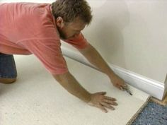 How to Install Wall-to-Wall Carpet Yourself Installing new carpet not only enhances the beauty of a room but provides insulation, sound control, and a comfortable surface to walk on. Wall Carpet, Diy Carpet, Bedroom Carpet, Living Room Carpet, Carpet Flooring, Carpet Ideas, Carpet Repair, Stair Carpet, Cheap Carpet