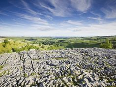 Standing a gigantic 80 metres high, Malham Cove is an enormous piece of natural heritage formed in the last Ice Age. The top of the cove is famous for its fissured limestone 'pavement', not to mention the views out over the lush green landscapes of the Yorkshire Dales.