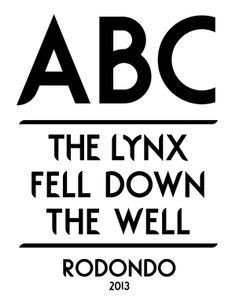 Rodondo by Olly Wood, via Behance