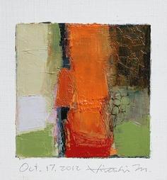 Oct 17 2012  Original Abstract Oil Painting  by hiroshimatsumoto, $60.00
