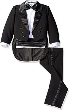 Black N Bianco Baby Boys Toddlers Black Tuxedo with a Tail 4T Black ** Find out more about the great product at the image link.