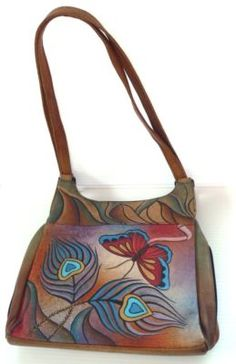 Gorgeous Anuschka handpainted bag!