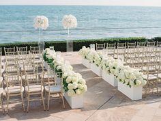 Santa Barbara Seaside Wedding Read more… Wedding Ceremony Ideas, Ceremony Decorations, Outdoor Ceremony, Wedding Venues, Wedding Ceremonies, Wedding Arches, Wedding Altars, Wedding Backdrops, Ceremony Backdrop