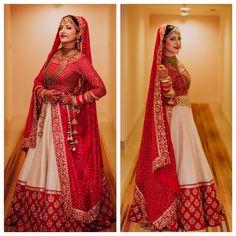 #indianbride#lehenga#indianwedding Indian Bridal Lehenga, Indian Bridal Outfits, Indian Bridal Fashion, Bridal Lehenga Choli, Saree Wedding, Wedding Attire, Indian Dresses, Bridal Dresses, Bridal Chura