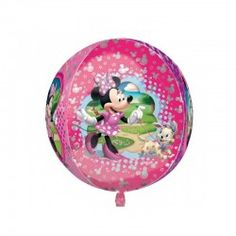 Minnie orbz Bubble Balloon