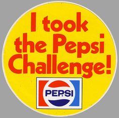 The Pepsi Challenge - 1970s