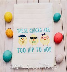 Too Hip To Hop Sketch Embroidery Design 3 SIZES Embroidery Files, Machine Embroidery, Embroidery Designs, Design Files, My Design, Cool Gifts, Sketch, Easter, Projects