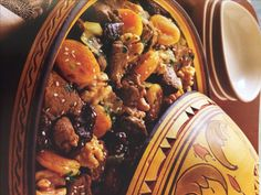 Lamb Tagine with Apricot and Prunes